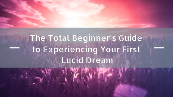 The Total Beginner's Guide to Experiencing Your First Lucid